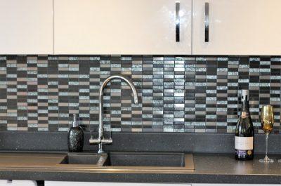 Japanese style Kitchen Mosaic Wall Tiling Wellington, Somerset