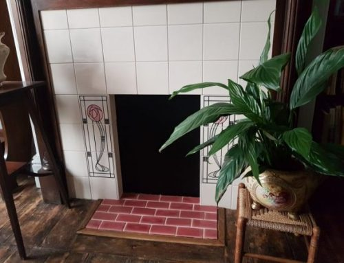 Fireplace Wall & Floor Tiling