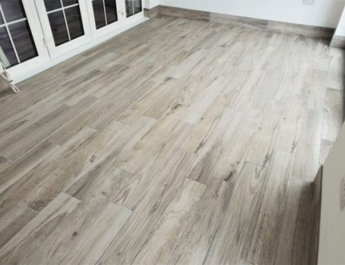 Porcelain wood effect Floor Tiling