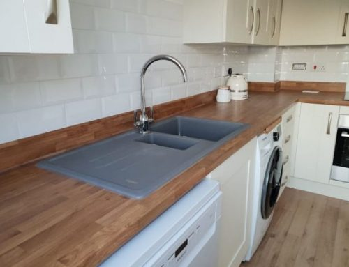 Kitchen wall tiling in Bridgwater