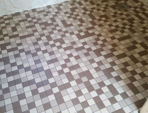 Mosaic floor tiler