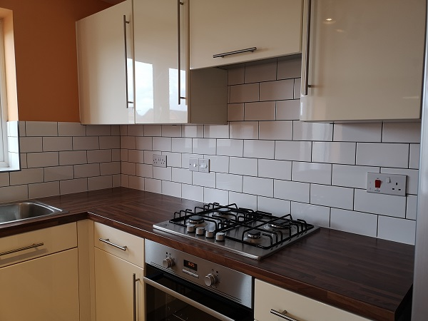 kitchen tiling in Monkton Heathfield, Taunton.