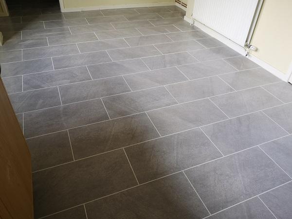 Kitchen floor tiling in Taunton, Somerset